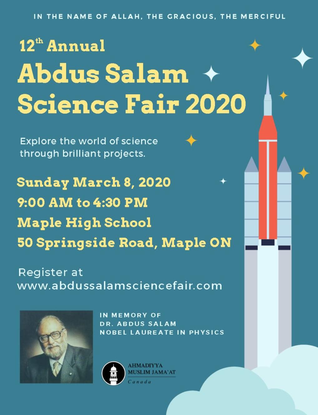 Abdus Salam Science Fair